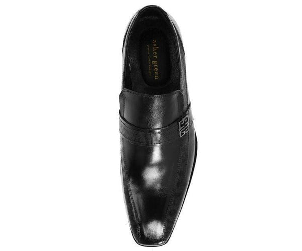 Johnny Genuine Buffalo Calf Leather Slip-On Loafer