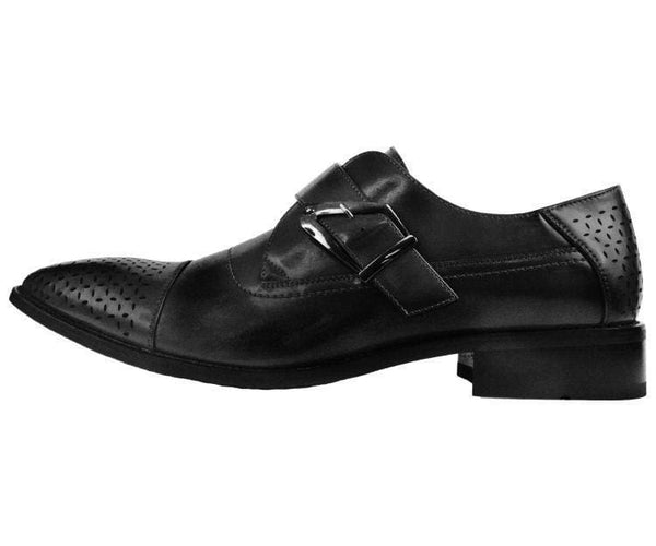 Jordan Smooth Single Monk-Strap Dress Shoe Monk Straps