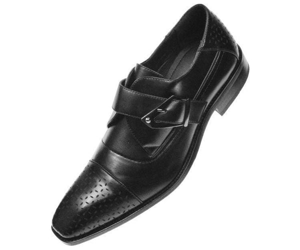 Jordan Smooth Single Monk-Strap Dress Shoe Monk Straps Black / 10