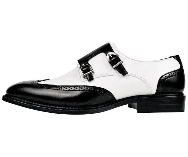Toby Smooth Double Monk Strap Dress Shoe Monk Straps