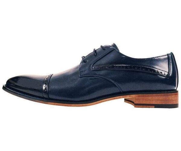 Timothy Perforated Cap-Toe Oxford Derby Oxfords