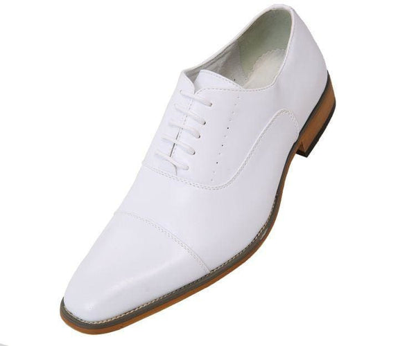 Clark Smooth Cap-Toe Tonal Stitched Oxford Lace Up White / 10
