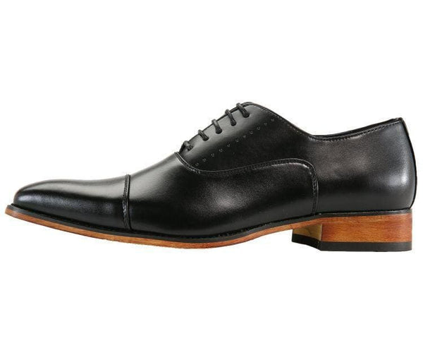 Clark Smooth Cap-Toe Tonal Stitched Oxford Lace Up
