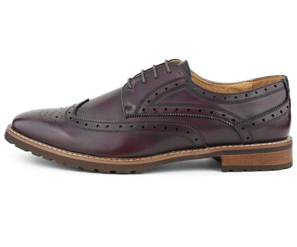 Eberly Mens Oxford Dress Shoes W/ Exotic Crocodile Designs Oxfords
