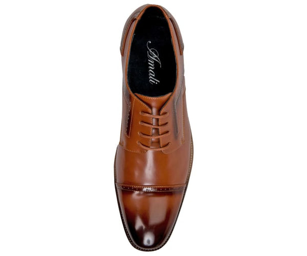 Batista Mens Smooth Cap Toe - Dress Shoe Derbys