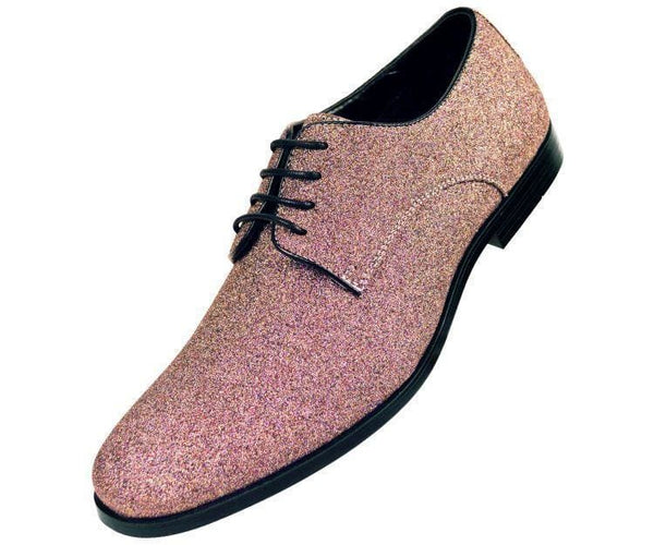 Shimmer Glitter Oxford Dress Shoe Derbs Multi-Colored / 10