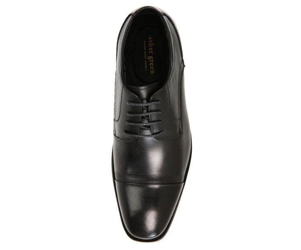 Jessie Brushed Calf Leather Oxford Derby Lace Up