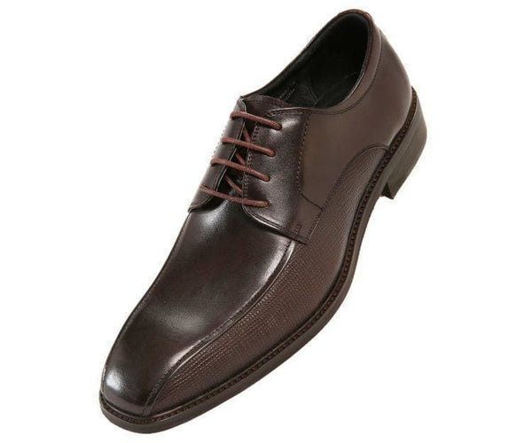 Jackson Genuine Leather Bike-Track Oxford Lace Up Brown / 10