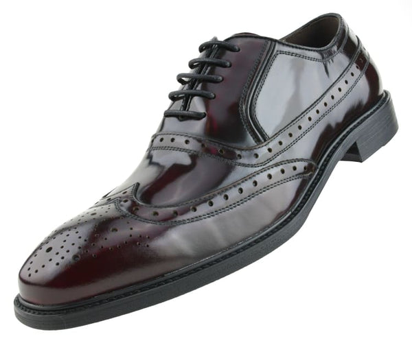 ag7327 Asher Green Oxfords Burgundy / 10