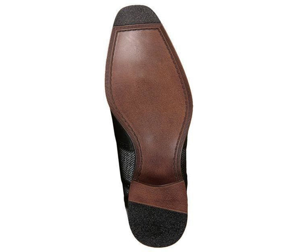 Keller Colored Twill And Smooth Wingtip Derby Dress Shoe Derby