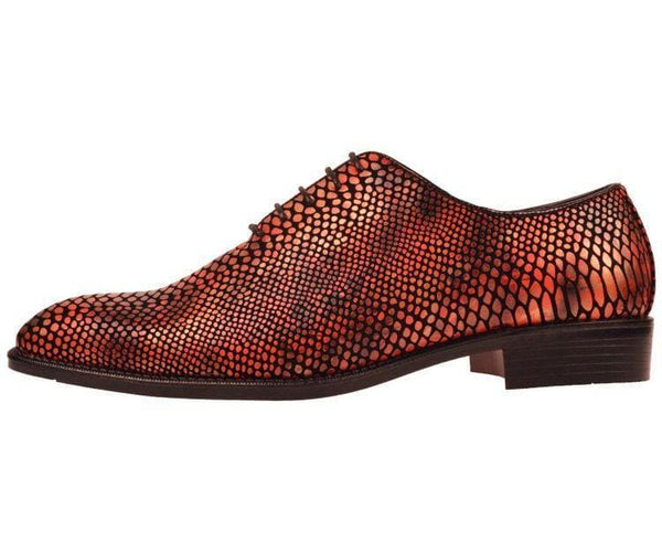 Seabrook Exotic Snake Printed Oxford Dress Shoe Oxfords