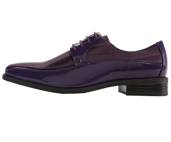 179-purple Viotti Oxfords