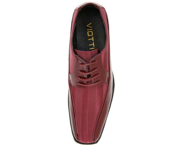179-burgundy Viotti Oxfords