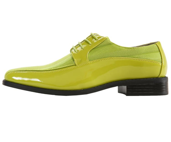 179-lime Viotti Oxfords