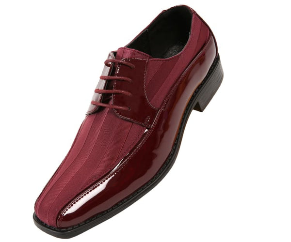 179-burgundy Viotti Oxfords Burgundy / 7.5