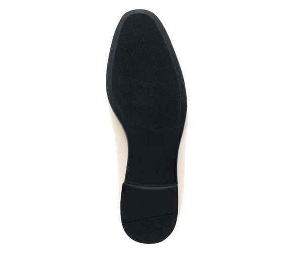 Amali Men's Plush Faux Velvet Slip on with Matching Rhinestones and Metal Tip Loafer Dress Shoes, Style Lugano