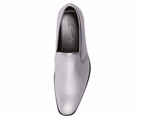 Murray-Silver Mini Star Covered Smooth Smoking Slipper Smoking Slippers