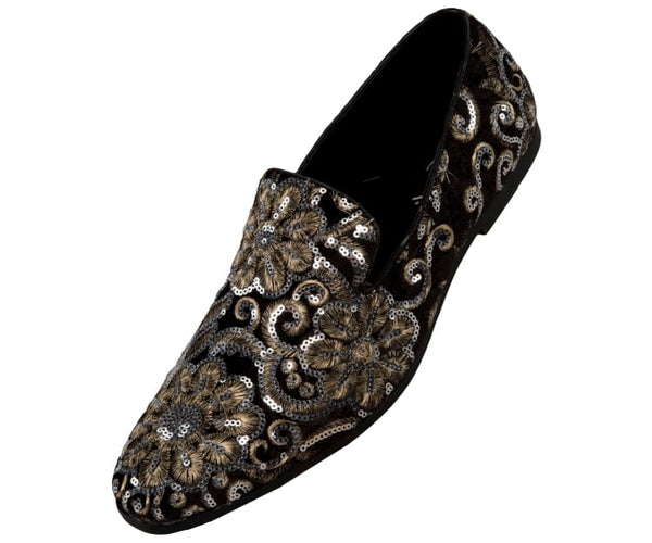 Fabian Amali Smoking Slippers Black / 10