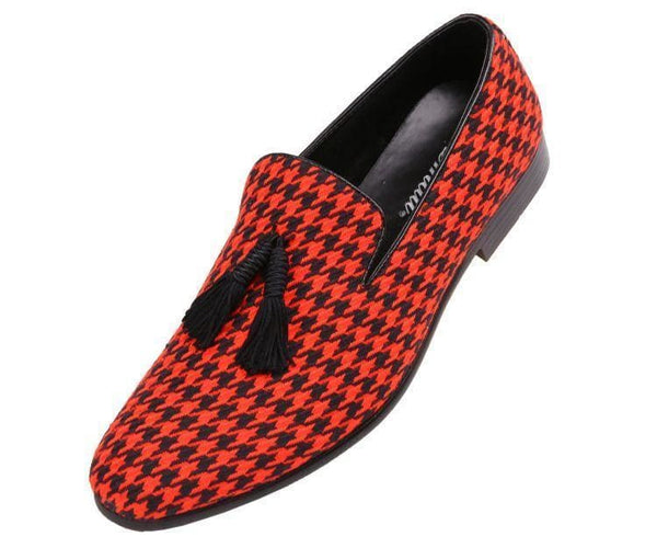 Orleans Mini Star Covered Smooth Smoking Slipper Smoking Slippers Red / 10