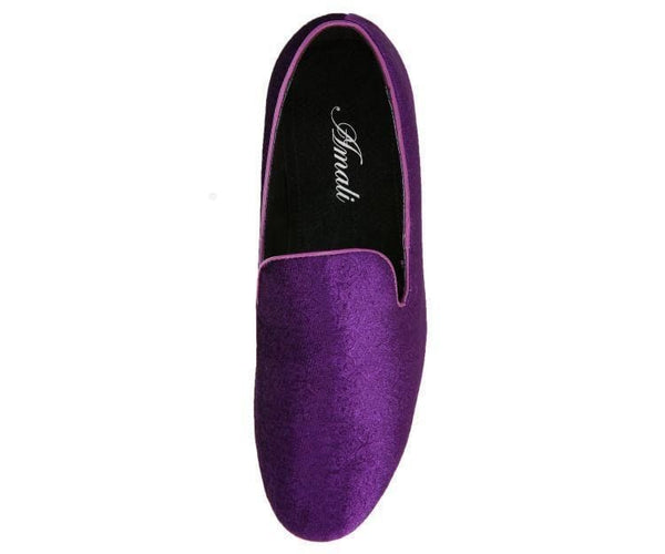 Vincent Paisley Velvet Smoking Slipper Smoking Slippers