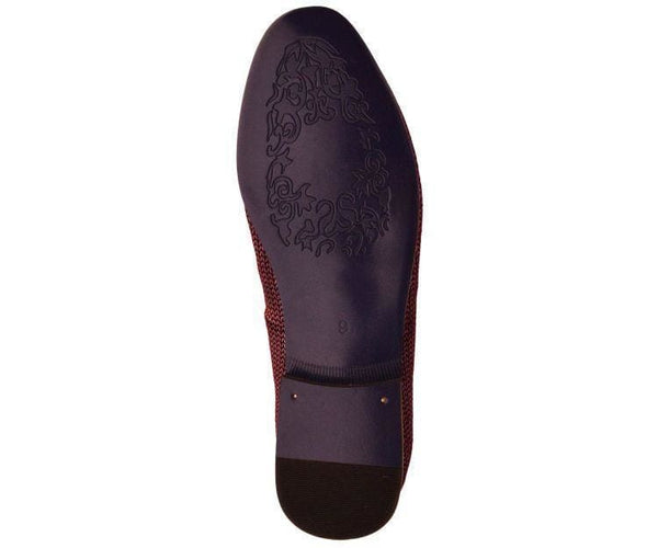 Ag835 Genuine Leather Loafer With Black Tassel Loafer