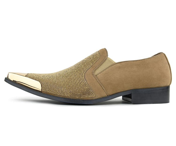 dezzy-neutral Bolano Smoking Slippers