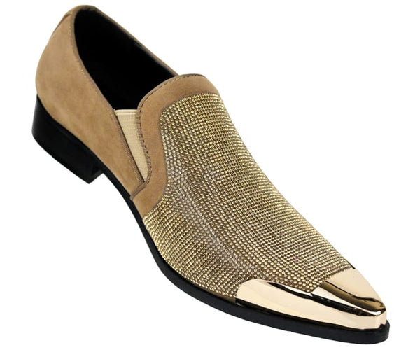 dezzy-neutral Bolano Smoking Slippers Taupe / 7.5