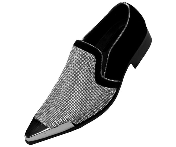 dezzy-neutral Bolano Smoking Slippers Silver / 7.5
