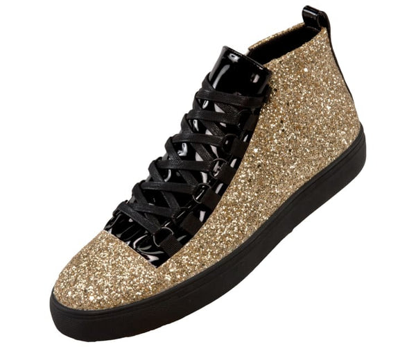 Mendoza Glitter Styles Athletic Boot Dress Shoe Boots Gold / 10