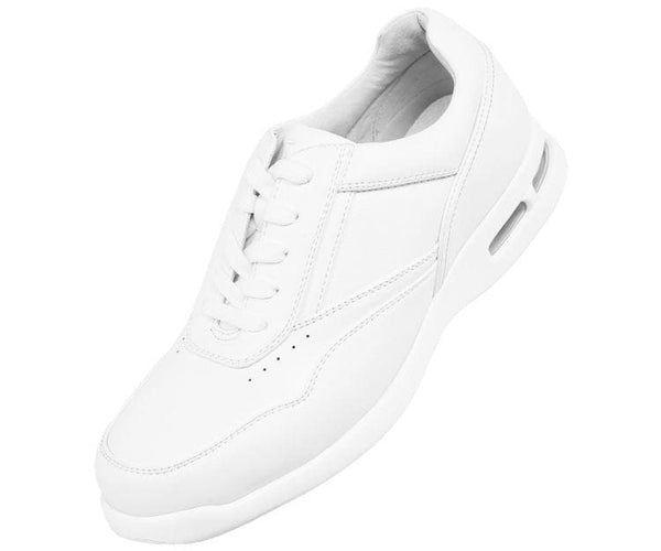 Speed Smooth Faux Leather Low Top Sneaker Sneaks White / 10