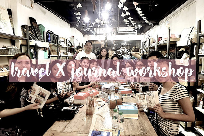 Travelers And The Aspiring Ones Journal Together: Travel X Journal Workshop by Noted Journal PH