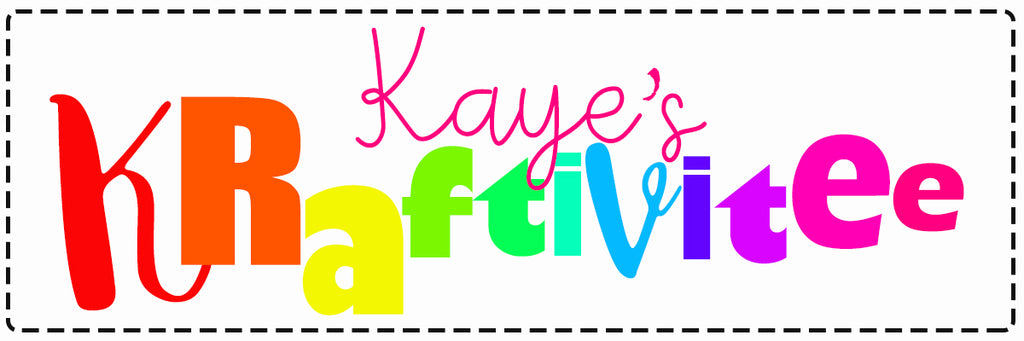 Kaye's Kraftivitee (September Feature)