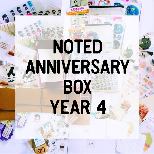 Noted Anniversary Box 2019