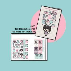 Stickers & Clear Stamp Organizer
