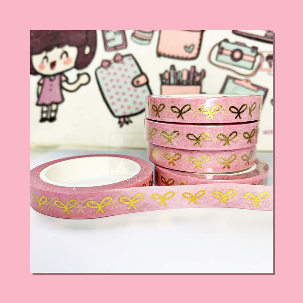 Bow in Blush Washi Tape