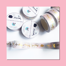 Load image into Gallery viewer, Days Of The Week Washi Tape