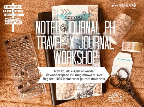 TRAVEL X JOURNAL WORKSHOP (Batch 1)