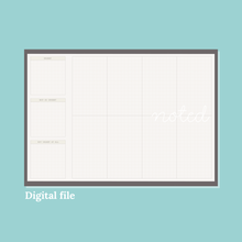 Load image into Gallery viewer, Desk Planner (Digital)