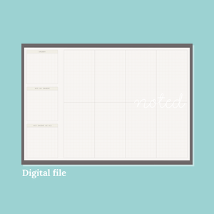 Desk Planner (Digital)