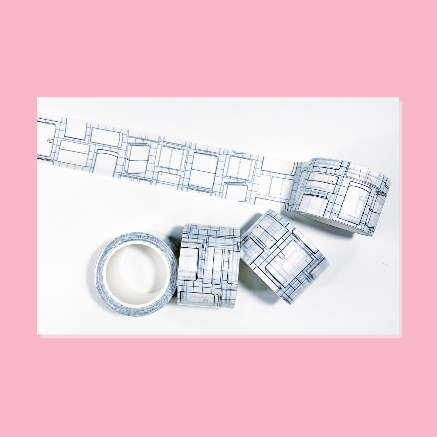Noted Blueprint Washi Tape
