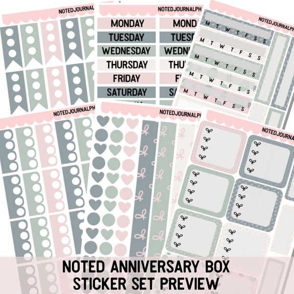 Noted Anniversary Box 2019 Batch 3