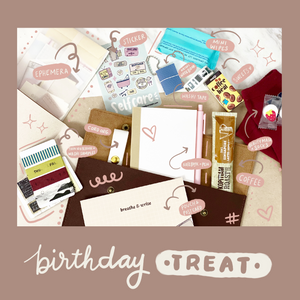 Journal Kit x Self-treat Package (Birthday Exclusive)