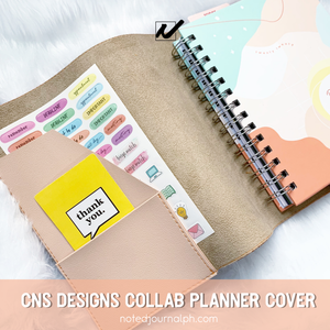 CNS DESIGNS COLLAB PLANNER COVER