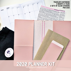 Planner Kit 2020 Undated