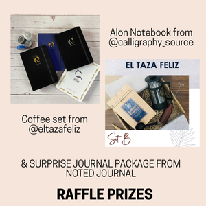 Online Memory-keeping Journal Workshop with Raffle Prizes