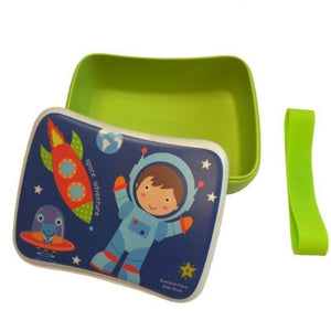 Eco-Friendly Bamboo Fiber Healthy Kids Lunch Box or Storage - FDA Approved - Just Be Special