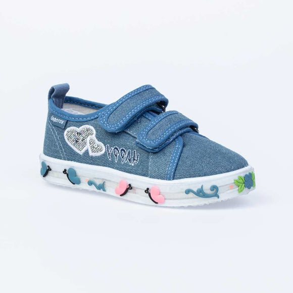 Toddler Girls Summer Lights Cotton Sneakers Toddler 10.5