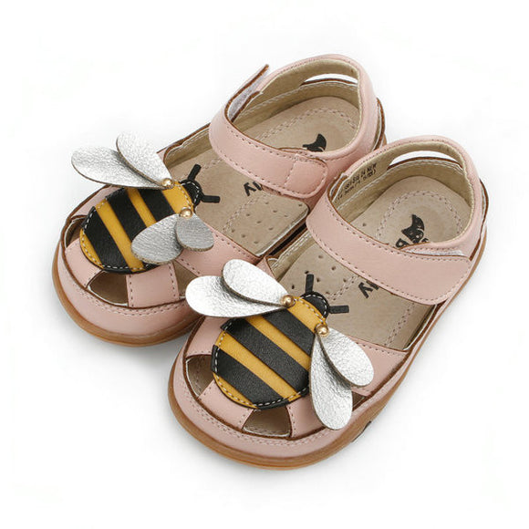 Girls Summer Cute Bee Sandals - JustBeSpecial