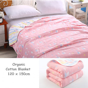 Organic Pure Cotton Toddler Bed Blanket - Just Be Special