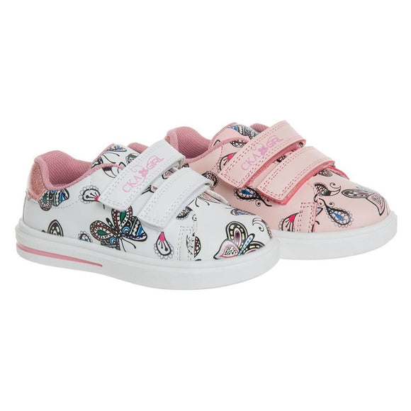 Toddler Girls Butterfly Design Orthopedic Sneakers Toddler 6 / 6.5 / 8 / 9 / 10